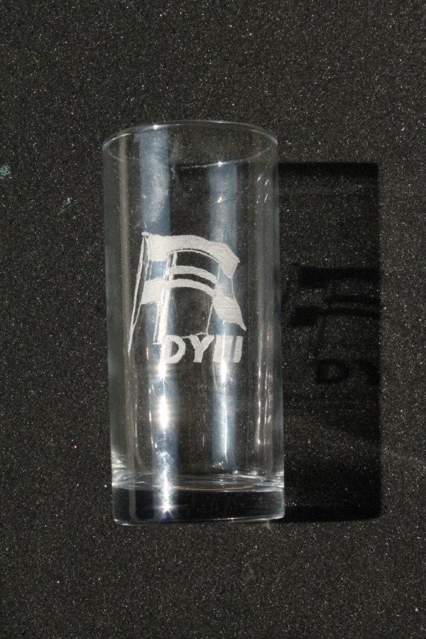 Longdrinkglas DY3 logo